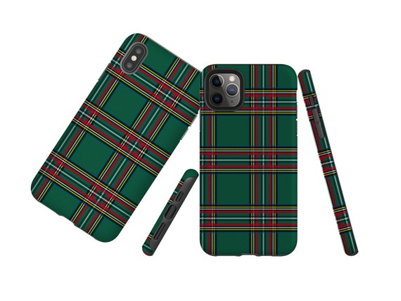 Green Plaid, classic Tartan Samsung Galaxy Note 10 Plus for men,  iPhone 11, iPhone X,  iPhone XS MAX,  Galaxy S9, Galaxy S20, iPhone 8 Plus