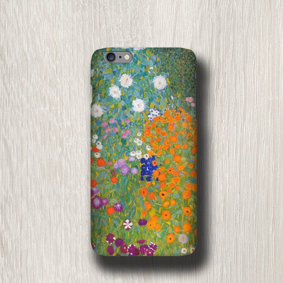 Gustav Klimt Cottage Garden iPhone 11 Pro Max case iphone 8 iPhone 7 plus iPhone xr Samsung Galaxy S6 Samsung Galaxy S20 Note 8 iPhone XS