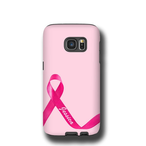 Breast Cancer Awareness personalized iPhone 11 case iPhone 7 iPhone XR iPhone 8 iPhone SE Samsung Galaxy S7 Galaxy S8 Samsung Galaxy S20