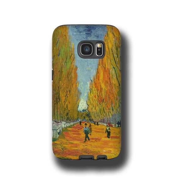 van Gogh Les Alyscamps iphone 11 case iPhone 7 Plus Galaxy S8 Samsung Galaxy Note 8 iPhone 6s Samsung Galaxy S6 iPhone 8 Plus iphone se case