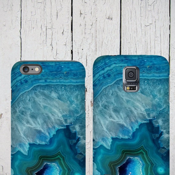 Agate stone iPhone 11 Case blue agate crystal iPhone xr iPhone 8 iPhone xs max Samsung Galaxy Note 8 Galaxy S7 Samsung Galaxy S20 Galaxy s10