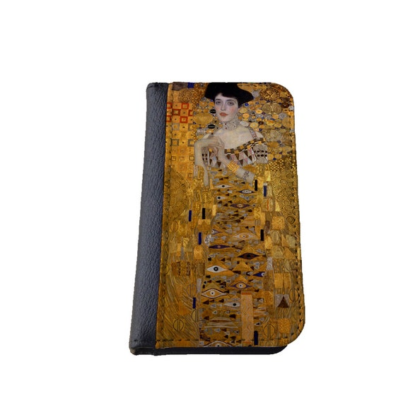 Gustav Klimt Portrait of Adele Bloch-Bauer iphone 6 Plus wallet case Samsung Galaxy Note 4 iPhone 5C case iPhone 6s Galaxy S4 Galaxy s5