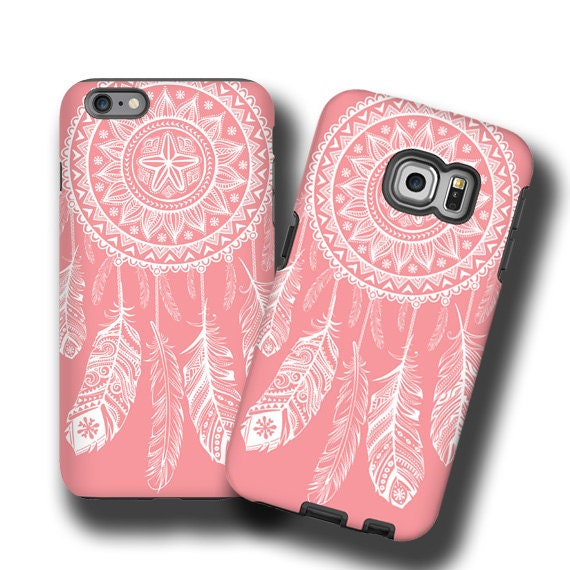 iPhone 11 Coral white iPhone 8 case Dream Catcher Samsung Galaxy S20 iPhone XS iPhone 7 Samsung Galaxy S7 galaxy S6 Galaxy Note 8 iPhone 7
