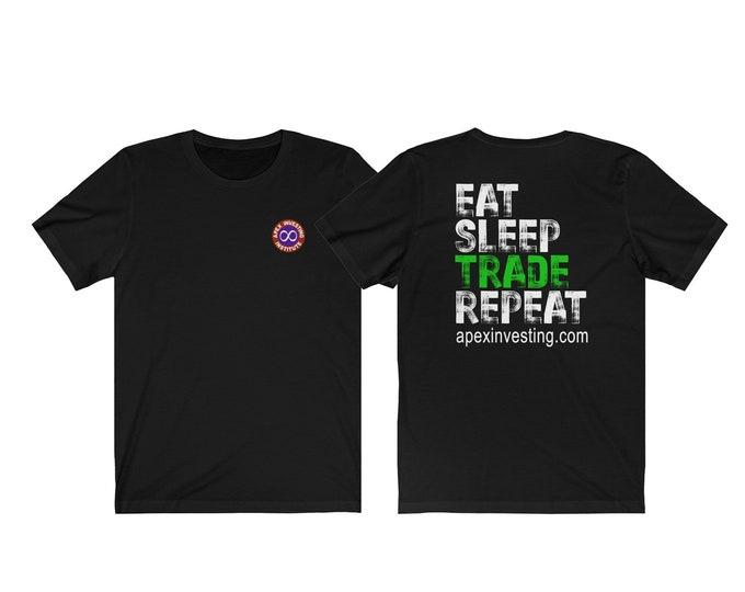Eat Sleep Trade Repeat - Gary Edition - Back Print