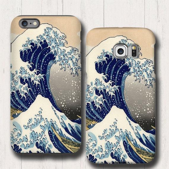 Great Wave Off Kanagawa iPhone XI iPhone 8 iphone 6s case Tsunami iPhone 7 Samsung Galaxy Note 8 iPhone 6 plus Galaxy S20 Samsung Galaxy S10