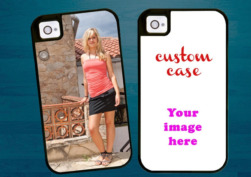online retailer 67312 0d8ea Custom Photo Case Design your own case iPhone SE iPhone 5s iPhone 5 cover  with extra rubber protection iPhone 4 case customized phone case