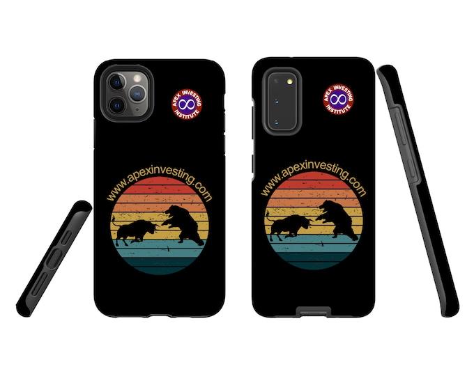 Bull and Bear Retro - Jack Edition - iPhone & Samsung Galaxy case