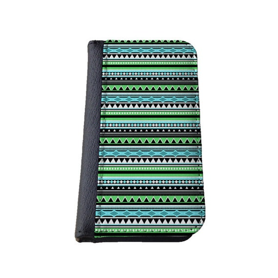 Aztec Green Tribal iPhone 6 case inca iPhone 6 Plus wallet Samsung Galaxy S6 Note 4 Note3 iPhone 4s iPhone 5c Galaxy S4 Samsung Galaxy S5