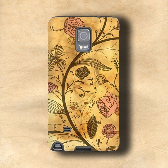 Antique floral pattern iphone 11 Pro case vintage Samsung Galaxy Note 10 Pro iPhone 6s case  iPhone 6 Plus iPhone 5 Galaxy Note 9 distressed