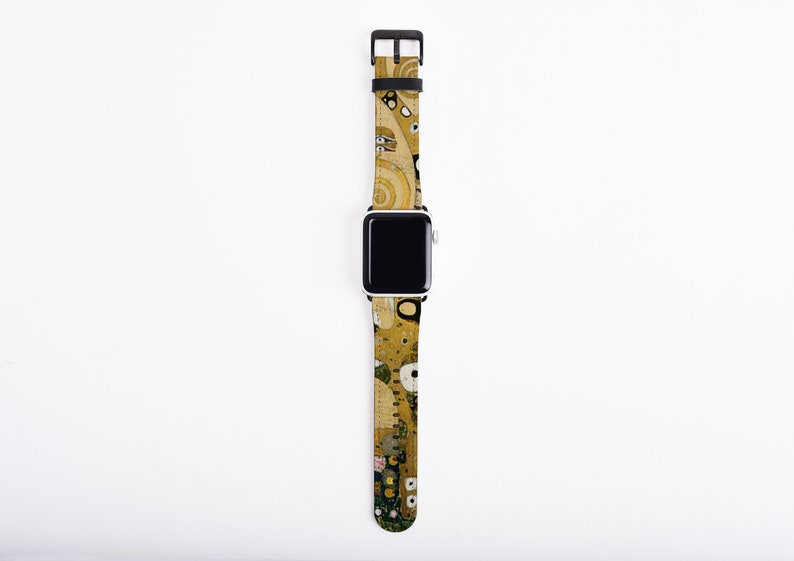 Gustav Klimt Tree of Life Apple Watch Strap artificial image 0