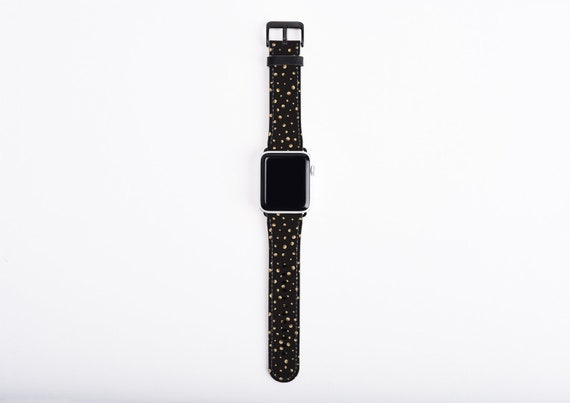 Little Moons Apple Watch Band 44mm women, band 38mm, artificial leather, 40mm, 42mm, fits all series, Apple series 5 watch strap, minimalist