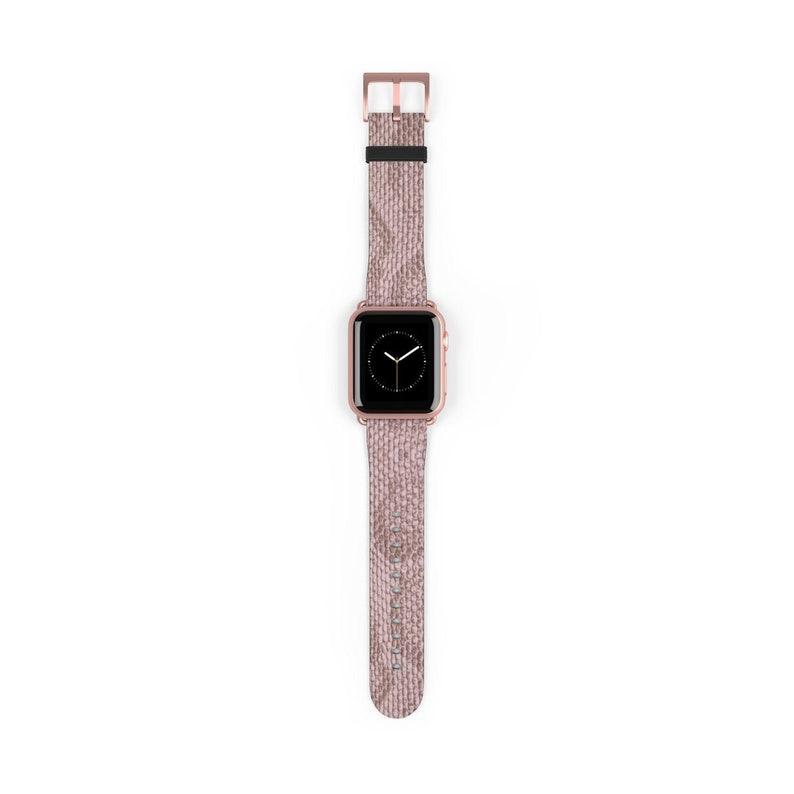Snake Skin Print Apple Watch Band 38mm 40mm 42mm 44mm vegan image 1