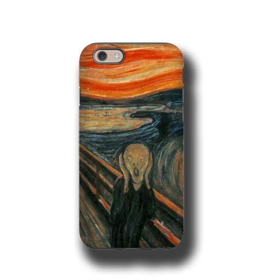 iPhone 11 The Scream Edvard Munch iphone 7 case iPhone 8 Plus Galaxy S10 5G Samsung Galaxy Note 8 iPhone 6s Samsung Galaxy S6 iPhone 6s Plus