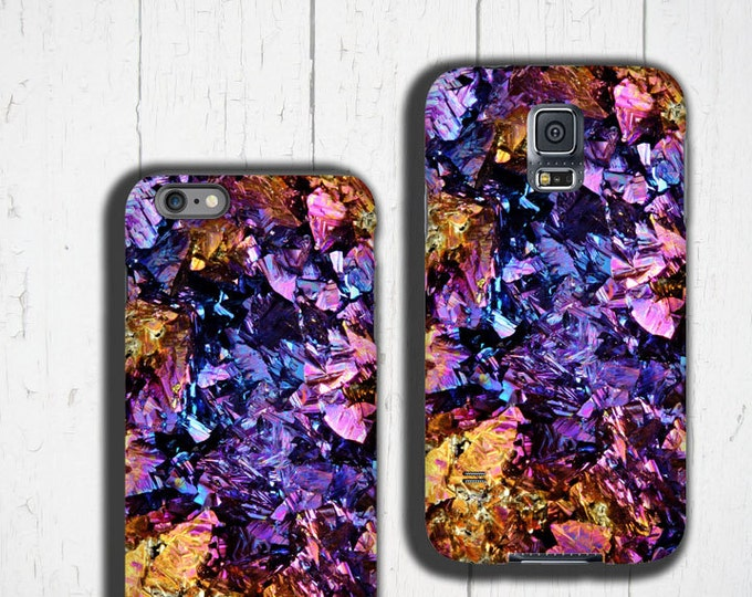 Chalcopyrite Samsung Galaxy S10 case colorful iPhone 12 case crystal iPhoneXR Galaxy S20 plus case iPhone 11, Galaxy Note 9 case Geode druse