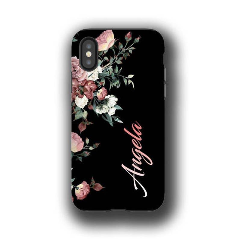 Iphone X Case Vintage Roses Iphone 8 Case Iphone 8 Plus Etsy