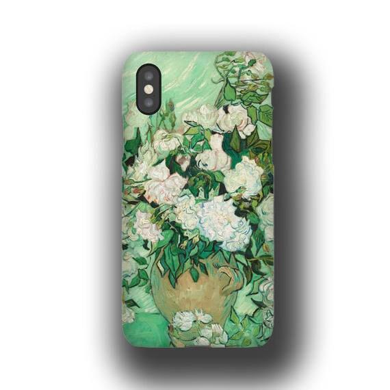 Samsung Galaxy S9 van Gogh Roses iPhone xr Case iPhone 7 iPhone 11 Pro iPhone8 Galaxy S20 iPhone 6 Plus Case samsung Galaxy S7 Galaxy Note 9