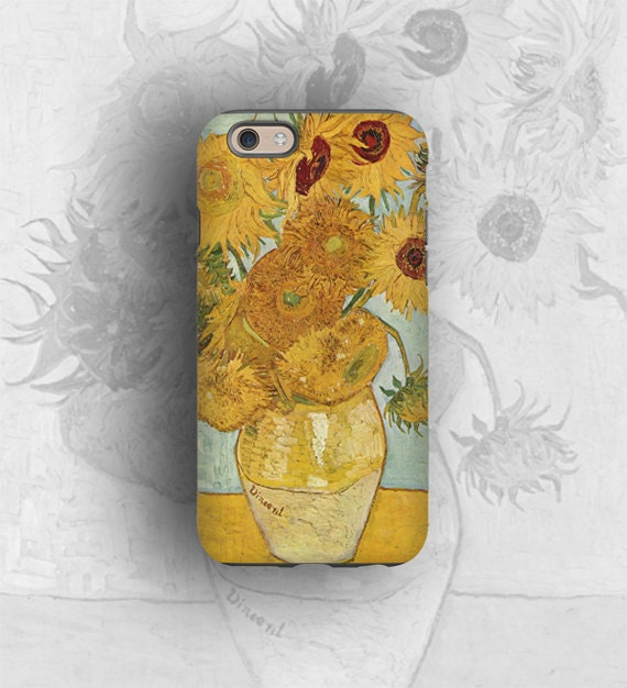 Vincent van Gogh sunflowers, iPhone 11 case, Samsung Galaxy S9 iPhone 8 iPhone 7 iPhone XS iPhone 6 iPhone SE iPhone X Galaxy Note 8 Note 10