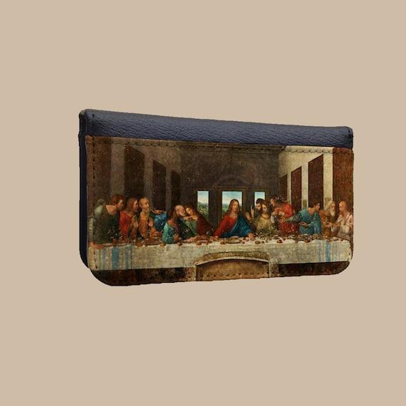 The Last Supper Leonardo da Vinci iphone 4S wallet case Samsung Galaxy Note 4 cover phone case accessories Galaxy S6 Edge iPhone 6s plus