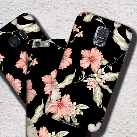 Lily iPhone 11 Pro case Floral iPhone XS iPhone x Floral iPhone 7 iPhone 6S Plus Samsung Galaxy Note8 case black Galaxy S10 plus case Lilies