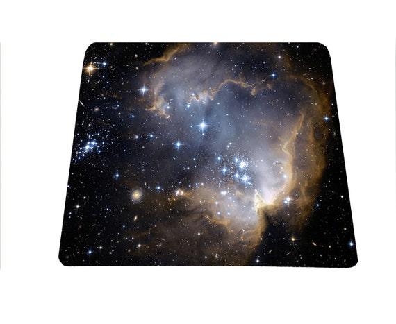Star Clusters Space Galaxy Nebula mouse pad science mousepad astrology mouse mat, mousepad for science teachers,back to school gift under 15