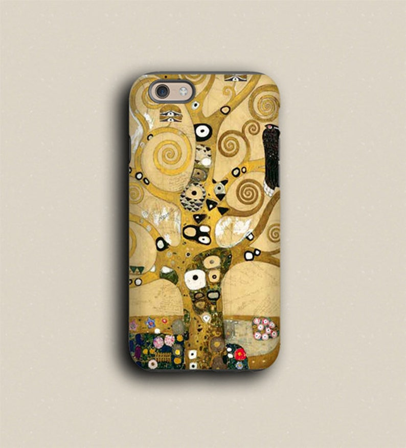 Samsung Galaxy S9 Tree of life Gustav Klimt iphone 11 case image 0