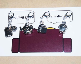 Morning Tea stitch markers
