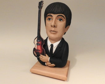 Paul McCartney Labstone Casting of my Original Sculpture