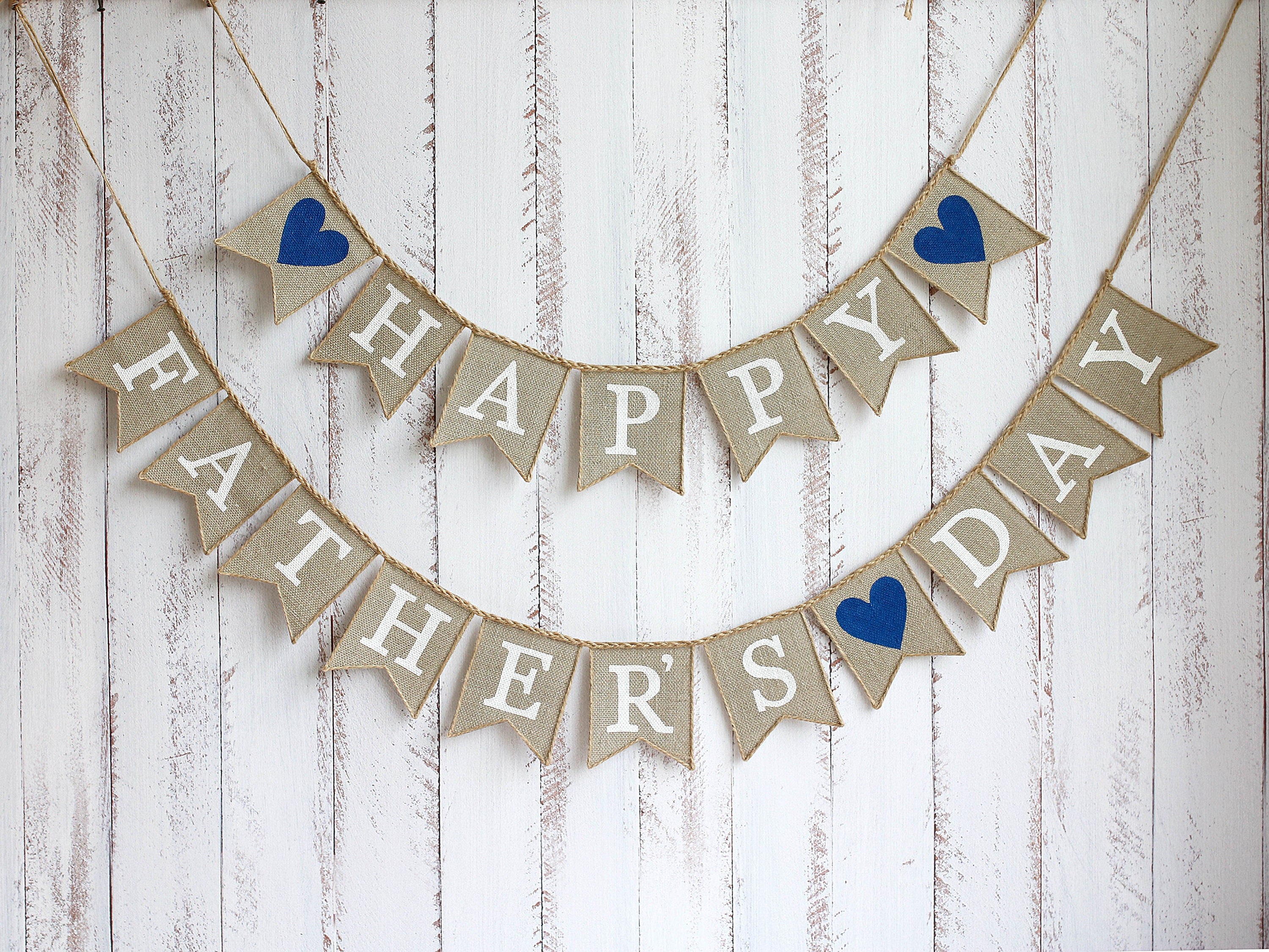 Accessories MZ.ogm Happy Fathers Day Banner Party Decorations ...