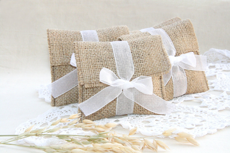 Fine Wedding Favor Burlap Bags Pattern - The Wedding Ideas ...