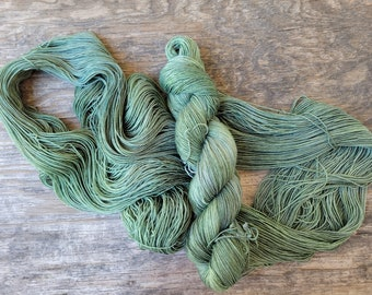 Pap's truck,  ready to ship, Hand dyed yarn, fingering weight, indie dyed yarn, merino, nylon