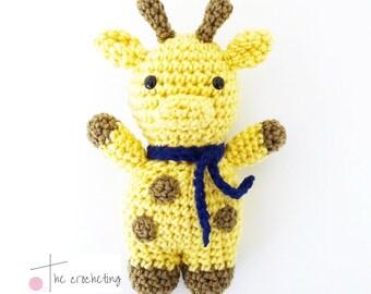 Haekeln Anleitung Giraffe Etsy
