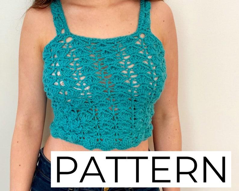 UK SELLER. Summer Top Hand Made Crochet