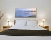 Narragansett Seascape Panoramic, Narragansett, Rhode Island, Nautical, Coastal Home Decor, Beach Photography, Ocean, Joules, Wall Art