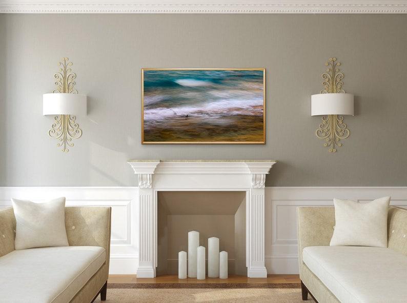 Beach Ocean Waves Seascape Fine Art Canvas Coastal Fine Art Photography,Art Limited Edition ~ Palm Beach Abstract~Palm Beach Florida