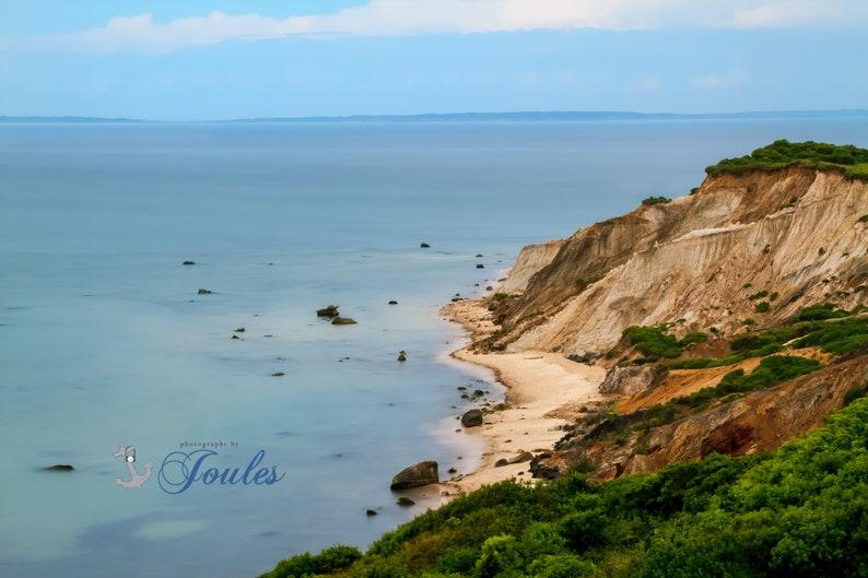 File:Gay Head clay cliffs 2 of town of Aquinnah, Marthas