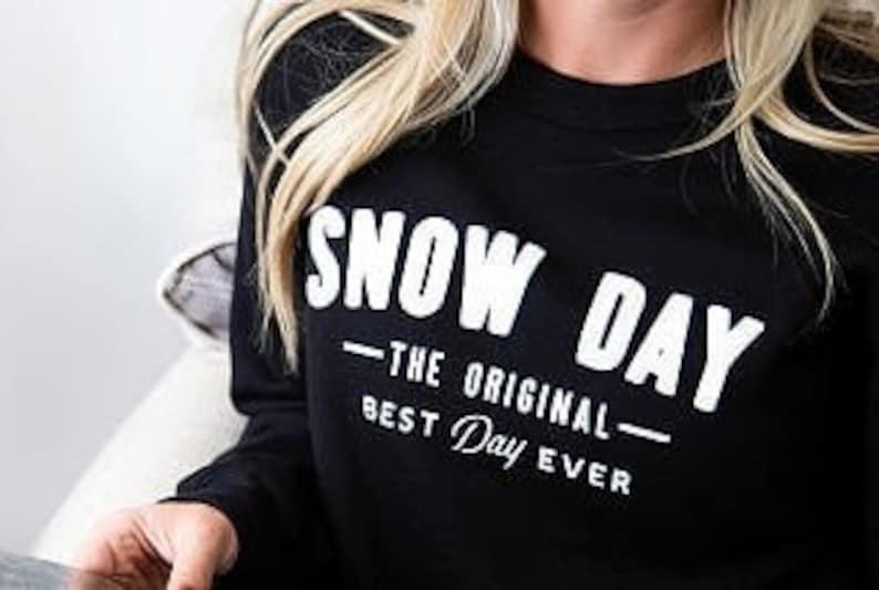 Snow Day Sweatshirt