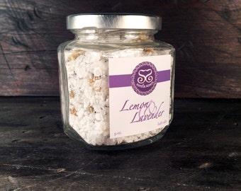 Lemon & Lavender Bath Salts