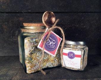 Neroli & Sweet Orange Bath Salts Gift Jar w/Spoon