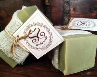 Green Clay Bar Vegan Soap Bar