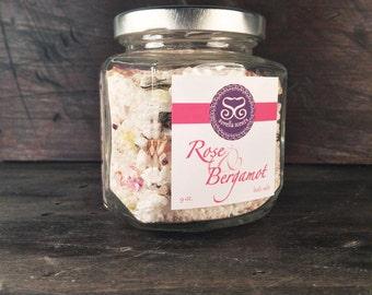 SOLD OUT!!! Rose & Bergamot Bath Salts