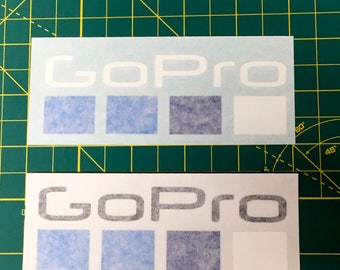 "GoPro Vinyl Decal Sticker 5"" (Buy Two Get One Free)"