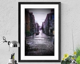 Stockbridge Rain Photographic Print