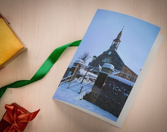 Muchty Church A5 Photographic Christmas Card