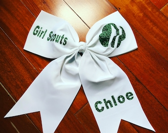 Girl Scout Cheer Bow