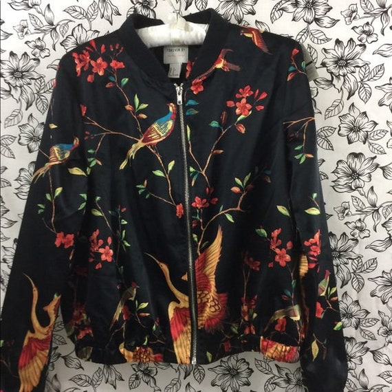 Forever 21 Bomber Jacket Size Small