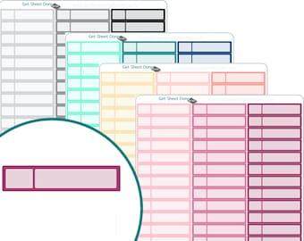 APPOINTMENT PLANNER STICKERS  Erin Condren Planner Stickers  Calendar Organizer Bullet Journal Planner stickers Functional Box Habit Tracker