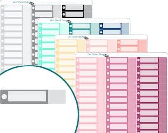 PAY BILLS STICKERS chores Erin Condren Planner Stickers  Calendar Organizer Bullet Journal Planner stickers Functional Box Habit Tracker