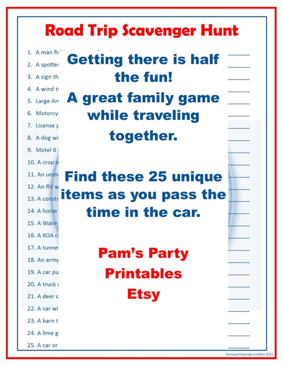 photograph about Family Reunion Scavenger Hunt Printable identify Street Holiday Scavenger Hunt - Relatives Pleasant Match - P Period