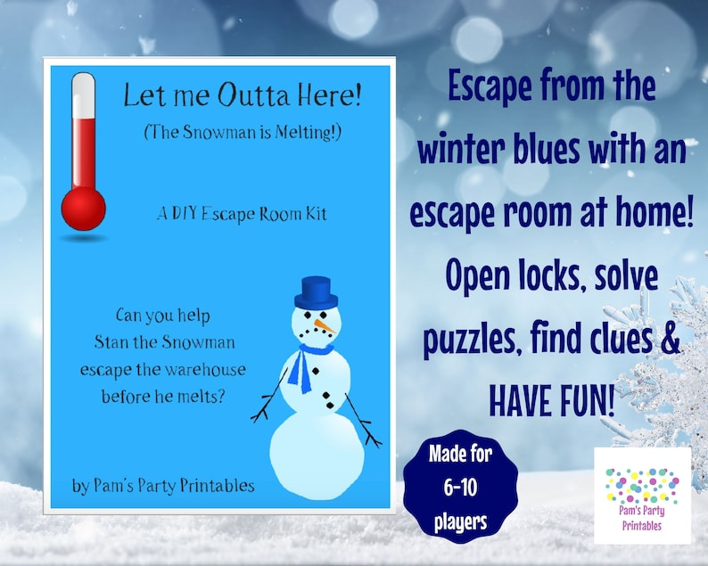 Let Me Outta Here   A DIY Escape Room Kit  image 0