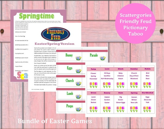 photograph relating to Printable Easter Games named Easter Printable Sport Package - Great deal of 4 Easter Game titles